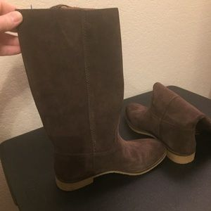 Lucky Brand Boots   Brown Suede   Size 6.5   NWT